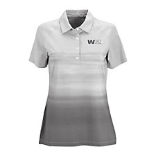Ladies Vansport Pro Ombre Print Polo Shirt