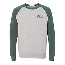 Alternative Eco-Fleece Champ Color-Block Crewneck Sweatshirt