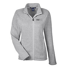 Devon & Jones Ladies Bristol Full-Zip Sweater Fleece Jacket