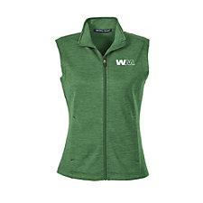 Devon & Jones Ladies Newbury Melange Fleece Vest