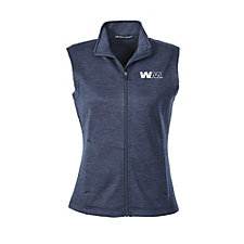 Devon & Jones Ladies Newbury Melange Fleece Vest