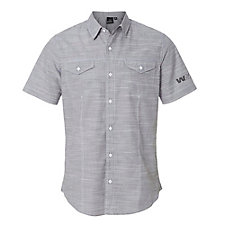 Burnside Textured Solid Short Sleeve Shirt