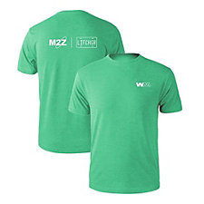 Short Sleeve Tri-Blend T-Shirt - M2Z