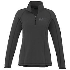 Ladies Bowlen Polyfleece Quarter-Zip Pullover