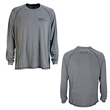 Vansport Long Sleeve Melange Tech T-Shirt - Recycling Warrior