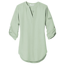 Port Authority Ladies Three-Quarter Sleeve Tunic Blouse