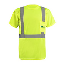 OccuNomix Lightweight Birdseye Pocket T-Shirt - 3.8 oz.