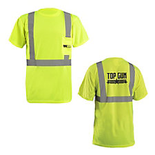 OccuNomix Lightweight Birdseye Pocket T-Shirt - 3.8 oz. - Top Gun