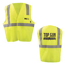 OccuNomix Breakaway Hi-Viz Safety Vest - Top Gun