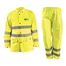 OccuNomix Rain Jacket, Pants and Removable Hood