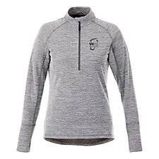 Ladies Crane Knit Half-Zip Pullover - WMPO