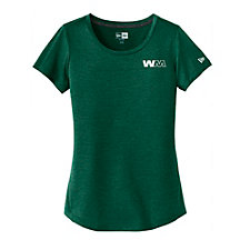 New Era Ladies Series Performance Scoop T-Shirt
