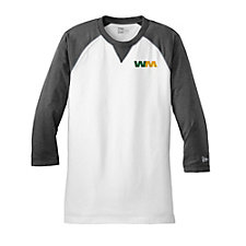 New Era Three-Quarter Sleeve Baseball Raglan T-Shirt