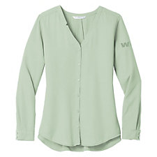 Port Authority Ladies Long Sleeve Blouse