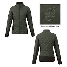 Ladies Rougemont Hybrid Insulated Jacket - WMPO