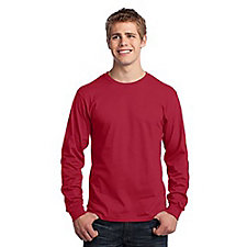 Port and Company Long Sleeve Core Cotton T-Shirt