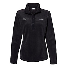 Ladies Columbia Benton Springs Half-Snap Pullover