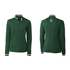 Ladies Lakemont Tipped Half-Zip Pullover - WMPO