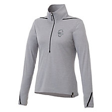 Ladies DEGE Eco Knit Half-Zip Pullover - WMPO