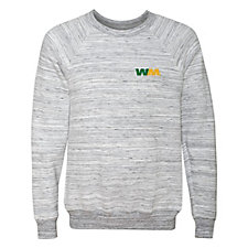 Bella Canvas Unisex Sponge Fleece Raglan Crewneck Sweatshirt