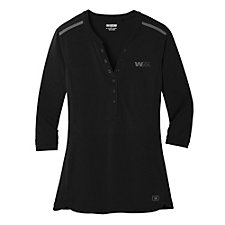 Ogio Ladies Fuse Henley Shirt
