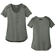 Ogio Ladies Orbit Henley Shirt