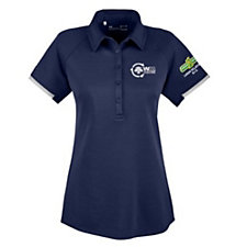 Under Armour Ladies Corporate Rival Polo Shirt - WMPO - Team Green and Labor Relations