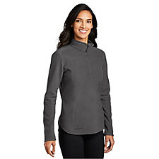 Eddie Bauer Ladies Half-Zip Microfleece Jacket