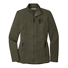 Port Authority Ladies Collective Striated Fleece Jacket - WMPO