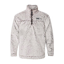 Boxercraft Ladies Sherpa Fleece Quarter-Zip Pullover