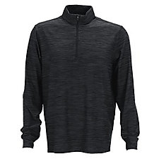 Greg Norman Heather Quarter Zip