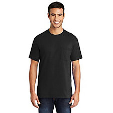 Port and Company Core Blend Pocket T-Shirt