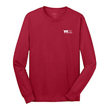 Port and Company Long Sleeve Fan Favorite T-Shirt - Go Red Day