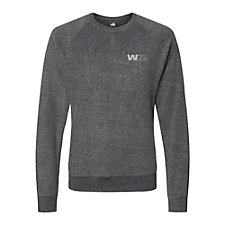 J. America - Flip Side Fleece Crewneck Pullover