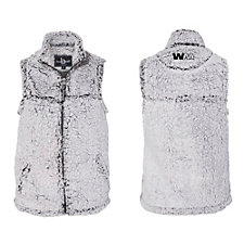 Ladies Boxercraft Sherpa Full-Zip Vest