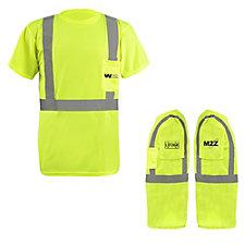 OccuNomix Lightweight Birdseye Pocket T-Shirt - 3.8 oz. - M2Z