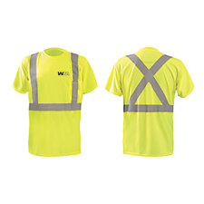 OccuNomix X-Back Short Sleeve 3.8 oz. Birdseye Pocket T-Shirt