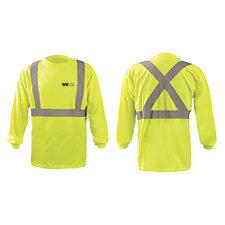 OccuNomix X-Back Long Sleeve 3.8 oz. Birdseye T-Shirt