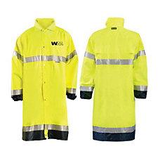 OccuNomix Premium Breathable Waterproof Long Length Rain Coat