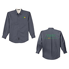 Port Authority Extended Size Long Sleeve Easy Care Shirt - Denver North Commercial