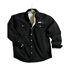 Tahoe Long Sleeve Shirt Jacket with Fleece Lining