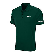 Vansport Omega Solid Mesh Tech Polo Shirt - #WeAreWM