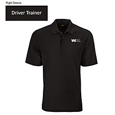 Greg Norman Play Dry Performance Mesh Polo Shirt - SHIPS FROM CANADA - Driver Trainer