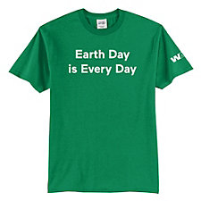 Port & Co Core Blend T-Shirt - Earth Day is Every Day