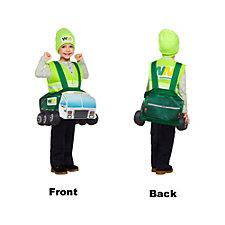 Custom Waste Management Halloween Kids Costume