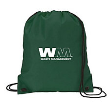 Nylon Drawstring Sport Bag - 14 in. W x 16.5 in. H (1PC)