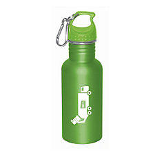 Truck Design Stainless Steel Water Bottle - 17 oz.
