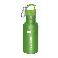 Think Green Stainless Steel Water Bottle - 17 oz.