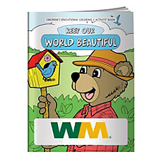 Keep Our World Beautiful Coloring Book