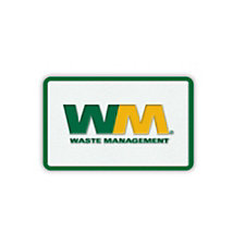 Rectangular Woven Waste Management Patch - 2 in. x 3 in.